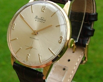 A gents 1960s Bentima Star wrist watch