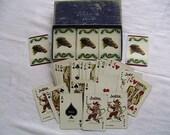 Gainsborough Samba Canasta Playing cards, 3 deck canasta, horses, Kentucky Derby?