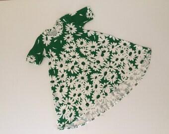 Retro fabric Tee Dress age 2-3
