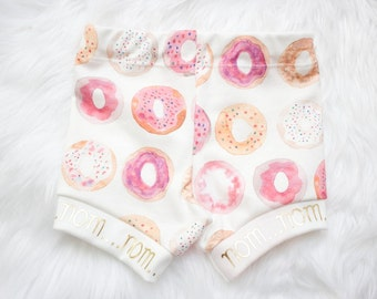 Shorts for Babies and Toddlers- Nom Nom Donuts