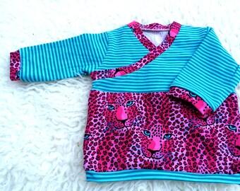 Baby shirt in Emerald Gr. 56