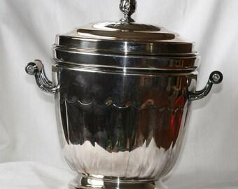 Vintage EPC Silver Plate Ice Bucket