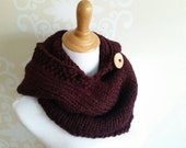 Autumn Hooded cowl - Made to Order