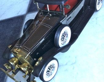 Classic Car Action Alarm Clock