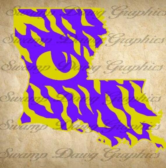 louisiana silhouette cricut - 413×420