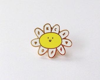 Enamel Pin - Daisy