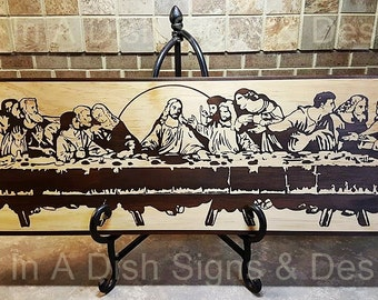 The Last Supper Wall Art last supper wall art | etsy