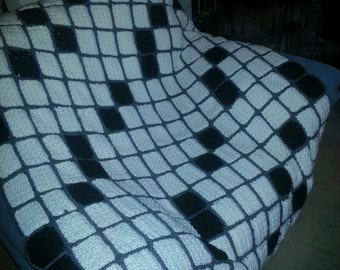 Crossword Lovers Throw