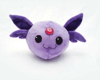 Round Espeon Plush- Cute Pokemon Doll