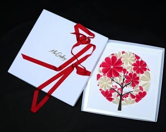 Premium Gift Box with Golden Monogram