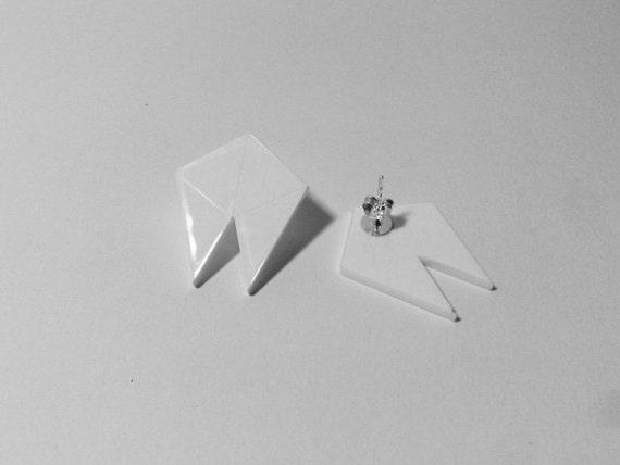 JAZZ Geometric Stud Earrings
