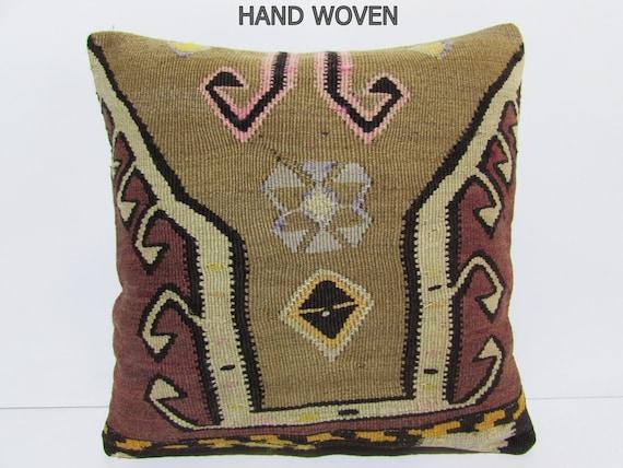 20x20 vintage carpets pillow decolic kissen kelim outdoor. Black Bedroom Furniture Sets. Home Design Ideas