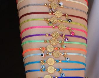 Wholesale LOT of 14    Adjustable Bracelets -Friendship  Bracelets