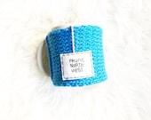Blue Knitted Coffee Mug C...