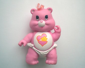 1980s Care Bear Poseable Figure Baby Hugs
