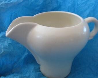 Joaquin Potteries White Creamer