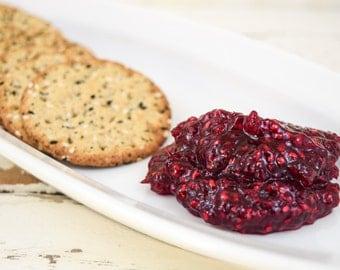 Organic Raspberry Chambord Jam 8 oz