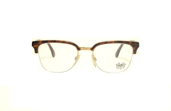 Glasses Frames Not Owned By Luxottica : Vintage eyeglasses frame Luxottica mod. 3087 Clubmaster nilor