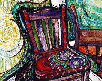 Chair #2, Limited Edition Giclee Print