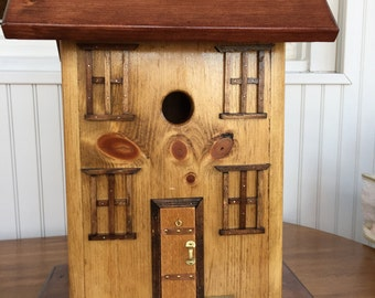 Wedding Card Box Birdhouse