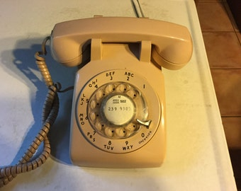 ON SALE Vintage Rotary Telephone