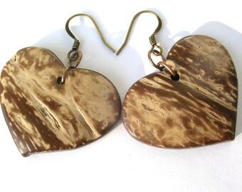 earrings cocos heart