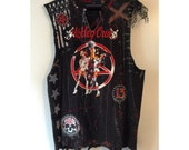 Crüe sleeveless distressed t shirt by Chad Cherry