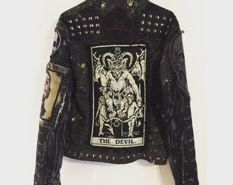 The Devil In You jacket by Chad Cherry
