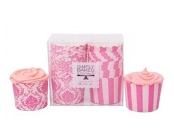 Spring Pink Baking Cups (24 Count) - Perfect for Spring and Easter Parties!