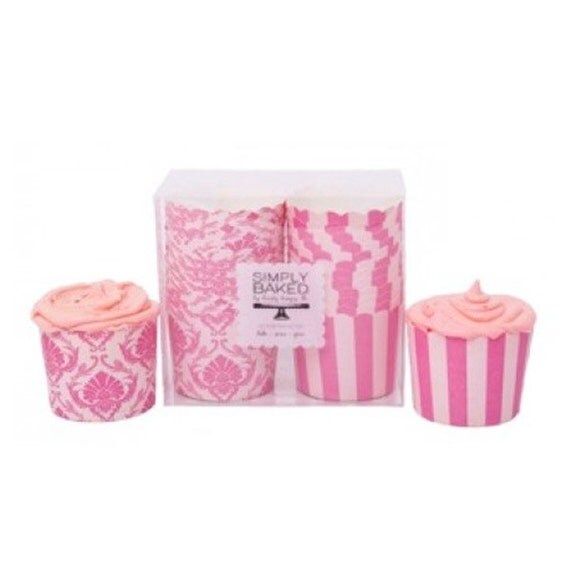 CLEARANCE SALE Spring Pink Baking Cups 24 Count Perfect