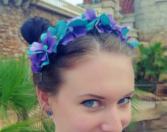 Ariel Flower Crown