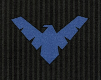 DISCONTINUED Nightwing Logo: DC Comics fabric print