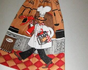 Italian Cooks Hanging Kitchen Towel