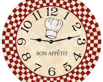 Chef Wall Clock