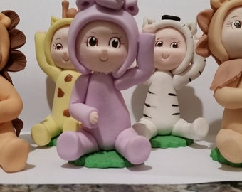 Safari cake toppers,Animals for cake toppers, cake topper animal , baby cake toppers set of 6pc safari animals