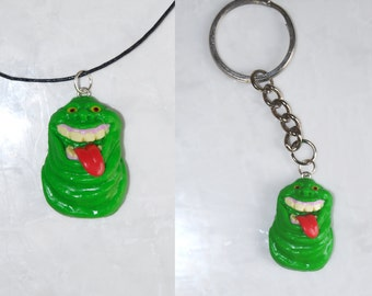 Slimer (Pendant or Keychain) - Ghostbusters