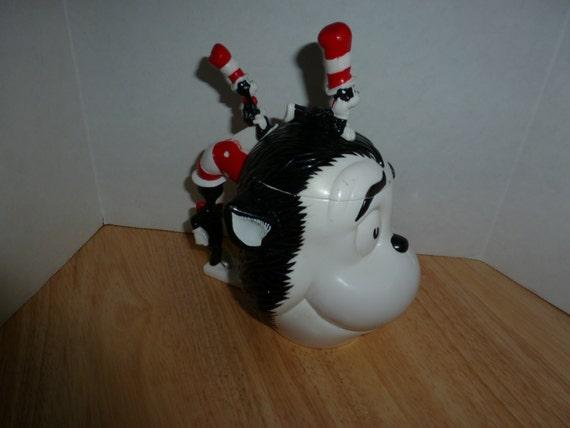 Dr. Seuss The Cat In The Hat Shaped Plastic Flip-Top Mug