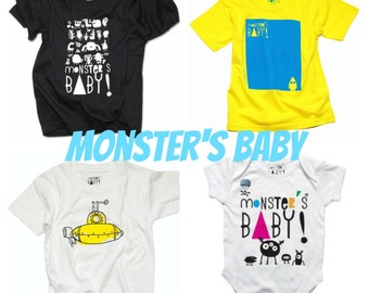 Monster's baby t-shirt