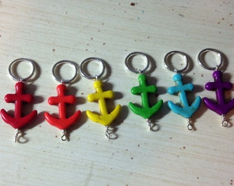 Anchor Knitting Stitch Markers