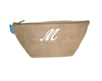 Personalized Cosmetic Bag, Bridesmaid Gift Ideas, Cosmetic Bag, Wedding Party Gifts, Cosmetic Bags, Monogrammed, Personalized Gifts