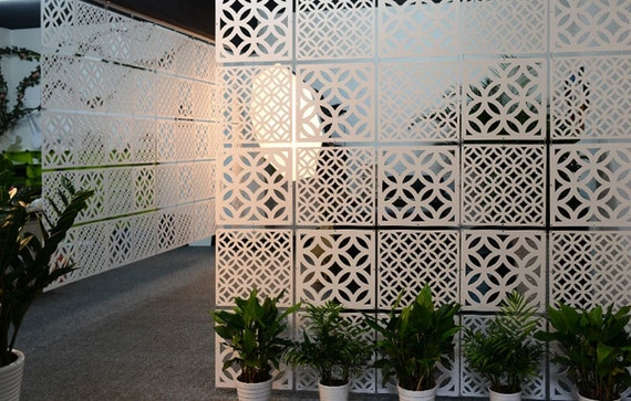 Room divider room partition curtain spring pattern - Plastic room divider screen ...