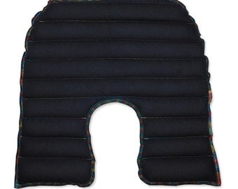 Hot Pack, Hot Pad, Heat Therapy, Rice Bag, Rice Heating, Microwave Bag, Heating Pad X Large, Men, Black