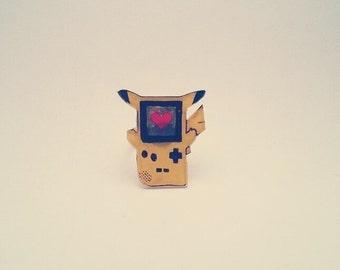 Pikachu GameBoy Ring / Pikachu Ring / Pokemon