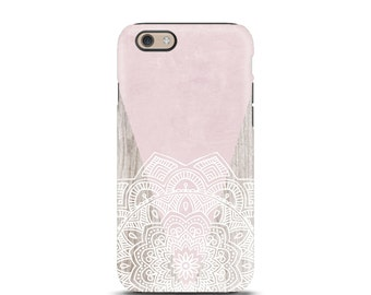 iPhone 6s case, iPhone 7 case, iPhone 7 plus case, iPhone 6 case, iPhone 5 case, iPhone 5s case, iphone 6s case tough - Mandala Boho