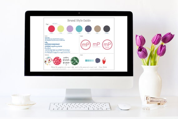 Style Guide Templates - Mastermind Mamapreneur - Brand Style Guide - Social Media Style Guide - Copy Style Guide - Blog Style Guide