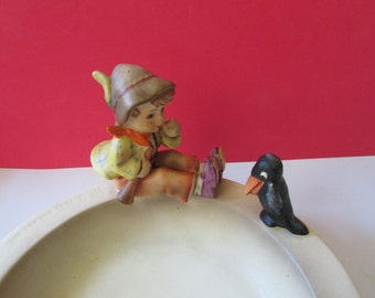 Vintage Hummel Ashtray Singing Lessons