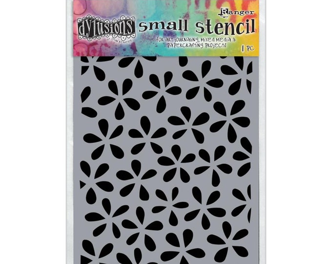 Ranger Dylusions FLOWER POP Small 5x8 Stencil by Dyan Reaveley