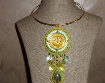 """Creator Necklace """" Divine Light Uriel """""""