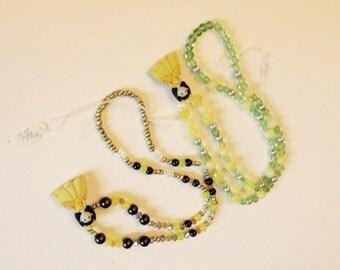 Yellow Princess Necklace