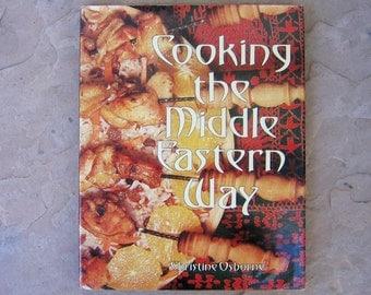 Cooking the Middle Eastern Way Cookbook, 1985 Cooking the Middle Eastern Way by Christine Osborne, Used Vintage Cookbook